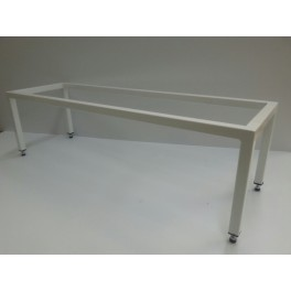 Open carrier table, 200cm with adjusting bolts